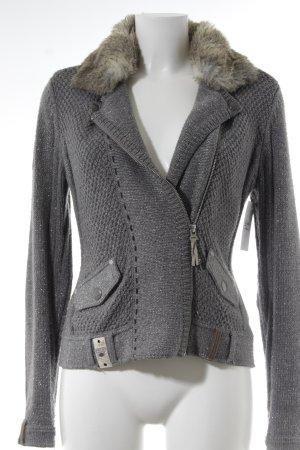 Largentina Kurzjacke grau Street-Fashion-Look