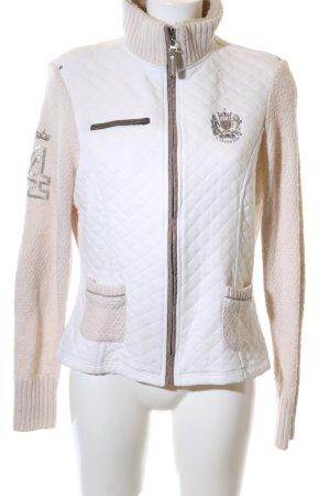 Largentina Veste matelassée blanc style décontracté
