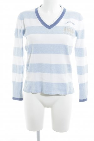 Largentina Jersey con cuello de pico multicolor look casual