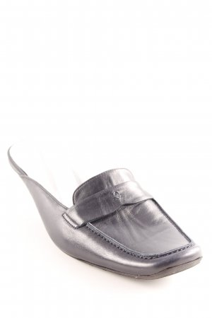 Lario Mule à talon noir élégant