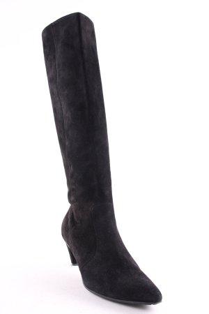 Lario Absatz Stiefel schwarz schlichter Stil