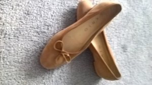 Mary Jane Ballerinas light brown