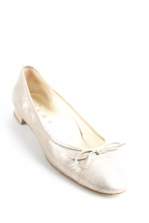 Lario Patent Leather Ballerinas rose-gold-coloured shimmery