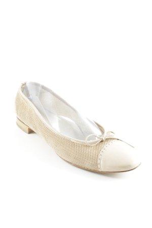 Lario faltbare Ballerinas beige Casual-Look