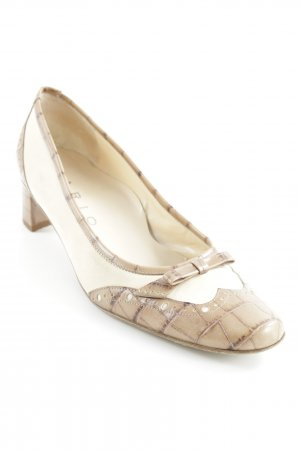 Lario High Heels beige-creme Casual-Look