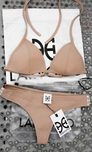 Larvotto LUXURY monaco bikini nude hautfarben minimal triangl