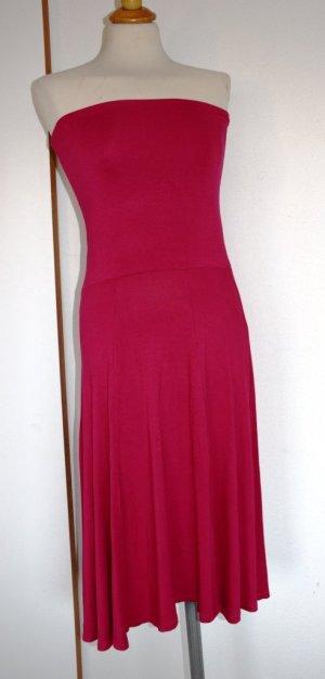 Lascana - Bandeau Kleid aus Viskose in Pink