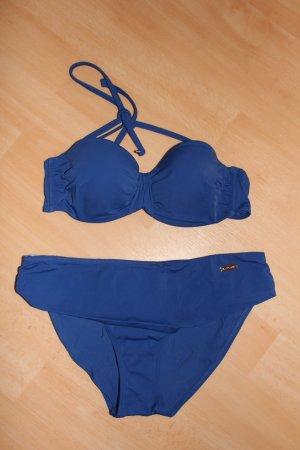Lascana Bikini Gr. 38 B blau royalblau Damen NEU!