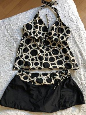 Lascana Bikini Größe 38 mit Kreismuster, kaschierend