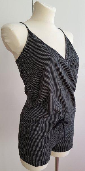 Lascana Pyjama zwart-wit Gemengd weefsel