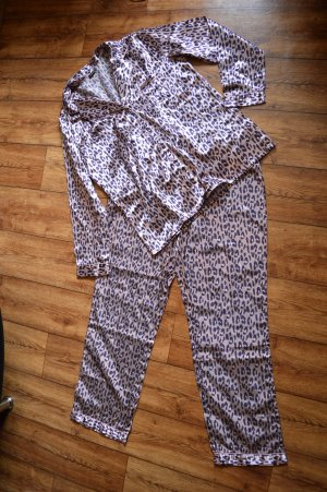 Lascana Pyjama rose-violet foncé