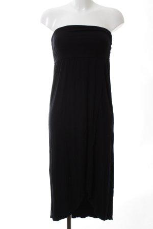 Lascana schulterfreies Kleid schwarz Elegant