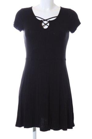 Lascana Shirtkleid schwarz Business-Look