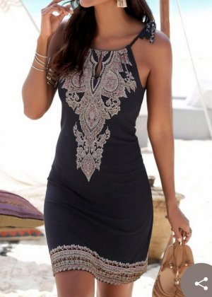 Lascana Beach Dress black