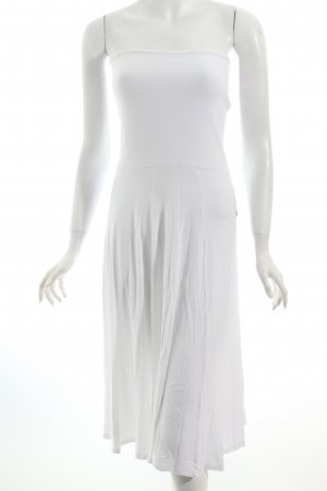 Lascana Robe stretch blanc Look de plage