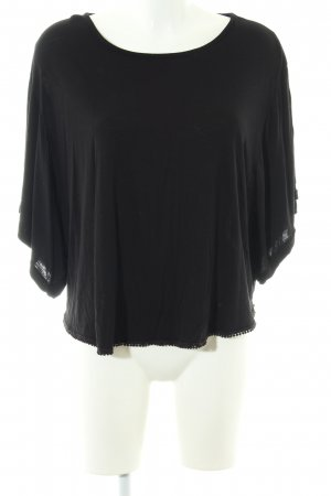 Lascana T-Shirt schwarz Casual-Look
