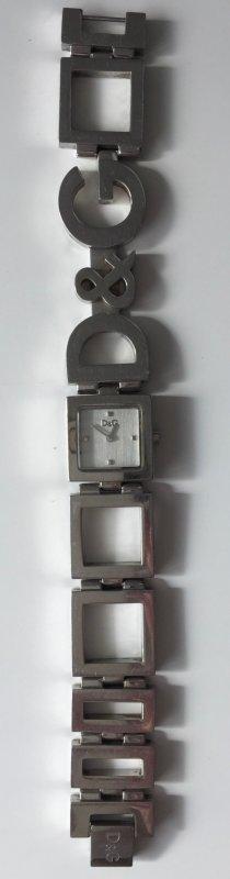 LAST PRICE !! Klassische D&G Uhr -  neue Batterie; funktioniert einwandfrei