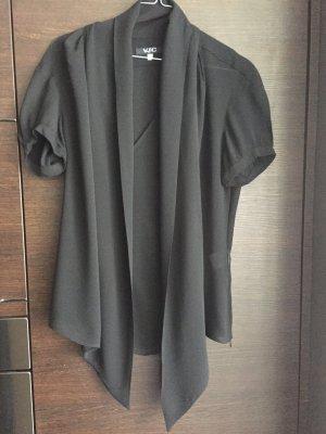 LAST PRICE !!!   Kurzarm Bluse VERSAGE zum Binden Gr. S