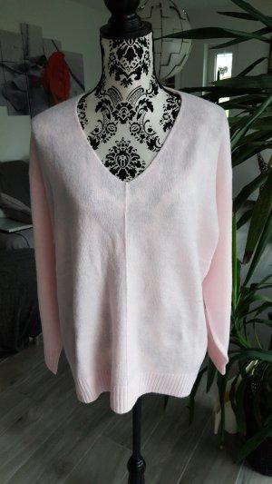 H&M Pull oversize rosé-rose clair