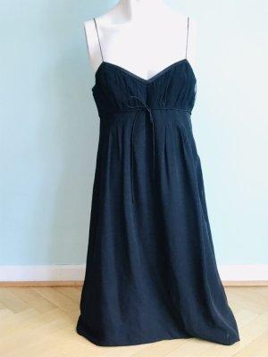 Hugo Boss Chiffon jurk zwart Zijde