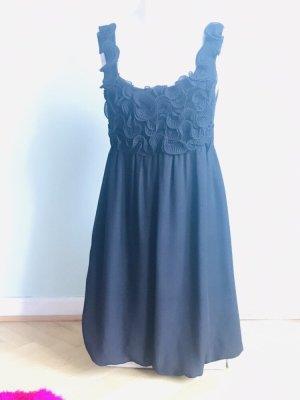 Empire Dress black rayon