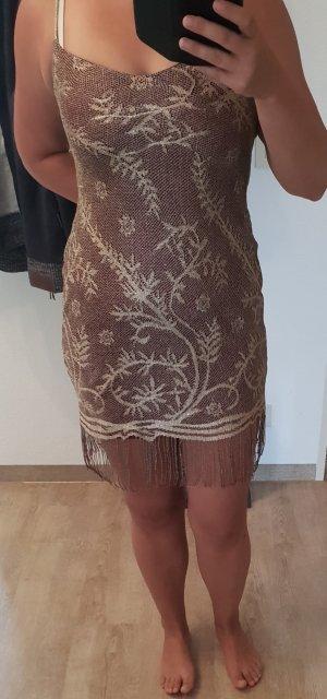 Latino Kleid mit Franzen