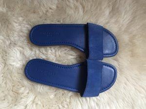 Blue Strenesse Sandalo infradito blu acciaio