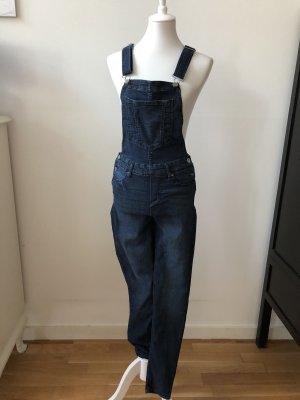 H&M Divided Jeans met bovenstuk donkerblauw