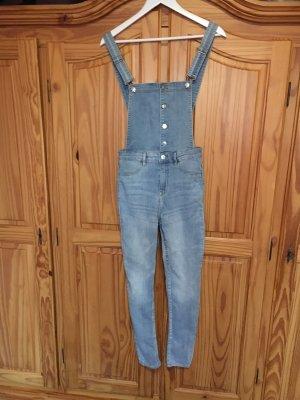H&M Divided Jeans met bovenstuk lichtblauw