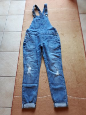 Street One Dungarees cornflower blue