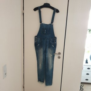 Review Salopette en jeans bleu
