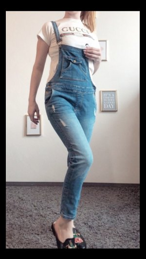 Zara Dungarees light blue