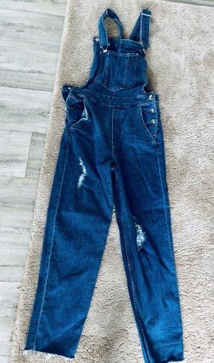 Denim Co. Jeans met bovenstuk blauw