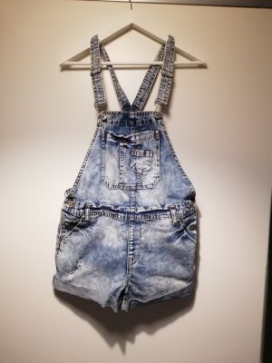 Dungarees steel blue