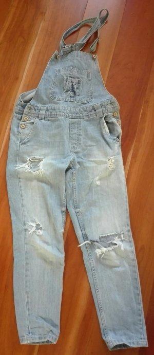 Latzhose aus Jeans- Stoff