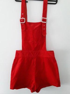 Salopette rosso