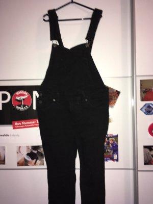 Jeans met bovenstuk zwart