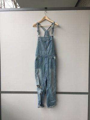 H&M Bib Denim cornflower blue