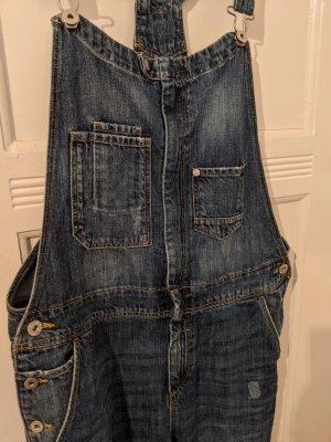 Latzhose *jeans*
