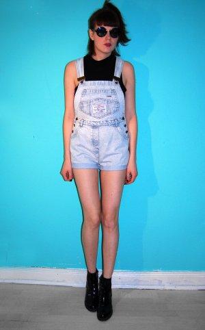 latzhose jeans denim vintage high-waist hellblau S 90ties / arizona