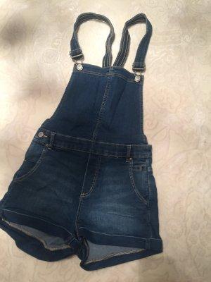 Latzhose Jeans Short