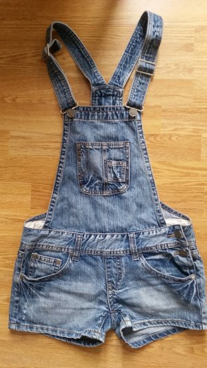 Latzhose Overall Jeans Shorts lowwaist 34-36