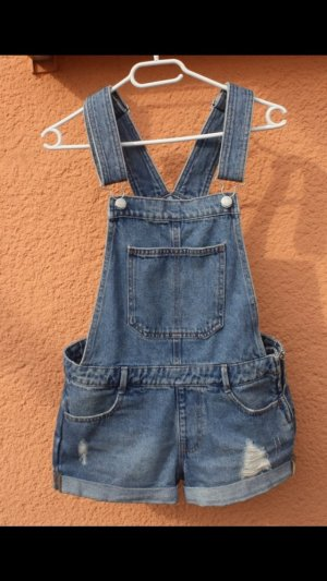 Pull & Bear Dungarees blue