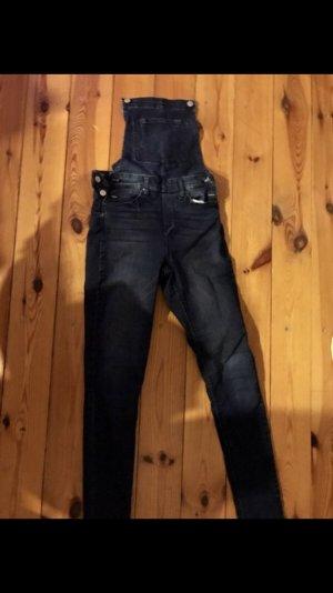 H&M Dungarees dark blue