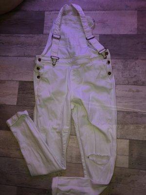 H&M Jeans met bovenstuk wit