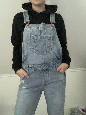 Zara Trafaluc Jeans met bovenstuk azuur-staalblauw