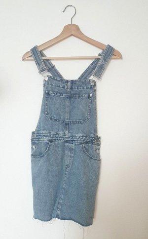 H&M Divided Denim Dress pale blue cotton
