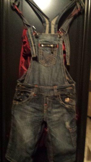 Fishbone Jeans met bovenstuk donkerblauw