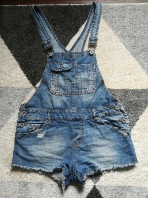 Latzjeans Shorts 38 M Denim Co Primark süss
