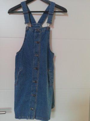 Pull & Bear Denim Dress steel blue